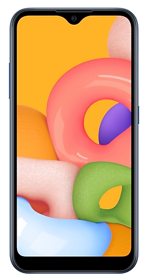 Смартфон Samsung Galaxy A01 16Gb Синий (SM-A015F)