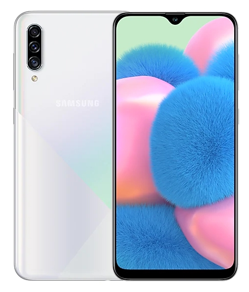 Смартфон Samsung Galaxy A30s 32Gb Белый (SM-A307F)