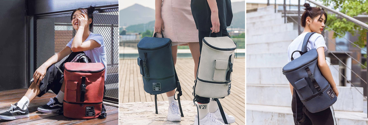 Рюкзак XiaoMi Fun Chic Casual Backpack, бежевый